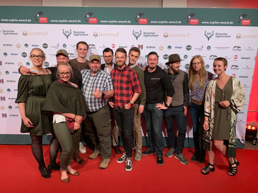 Die Jagdblogger beim Sophie-Award