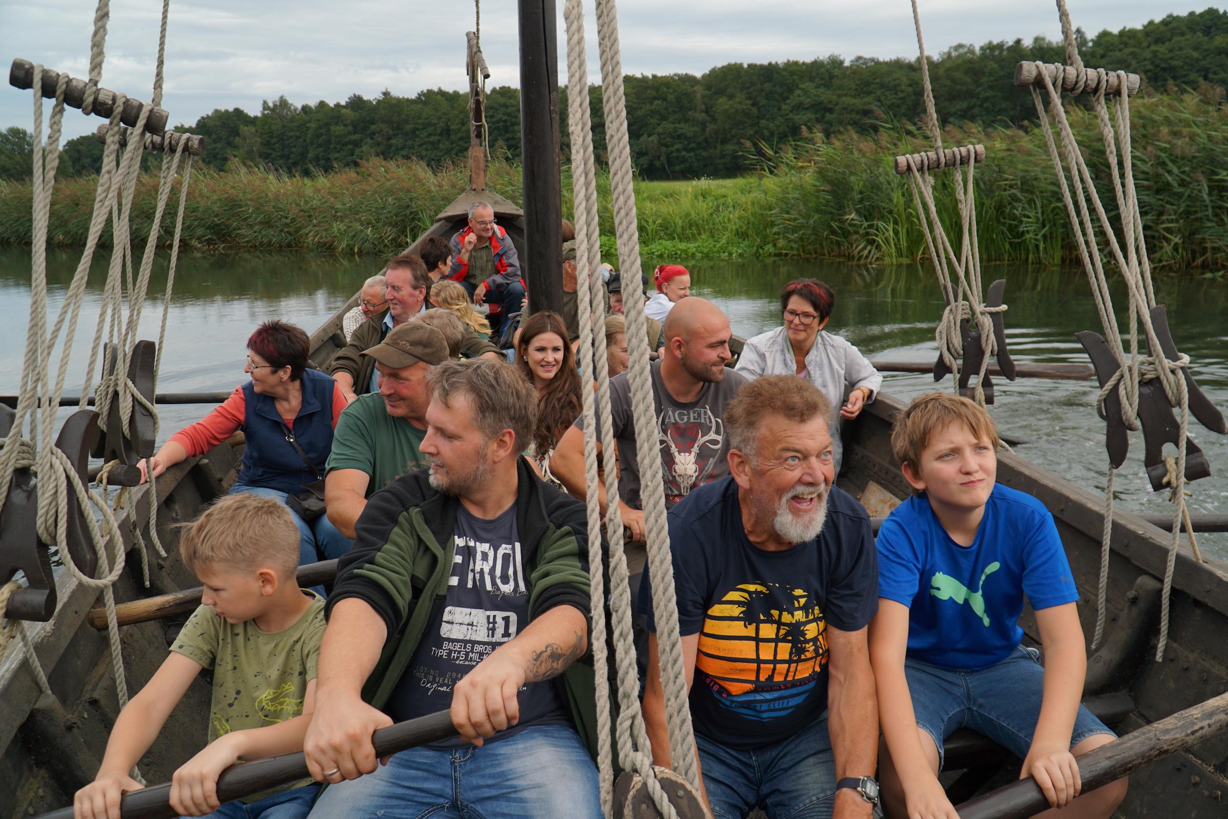 Ostseekogge im Ukranenland