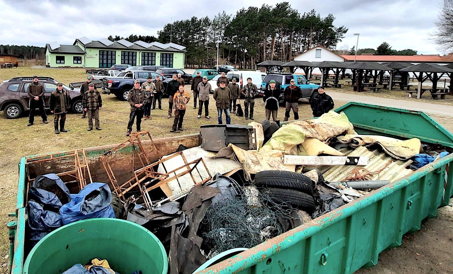 Müllsammelaktion des Hegering Ahlbeck